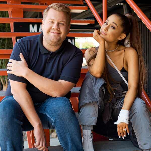 James Corden, Ariana Grande, The Late Late Show